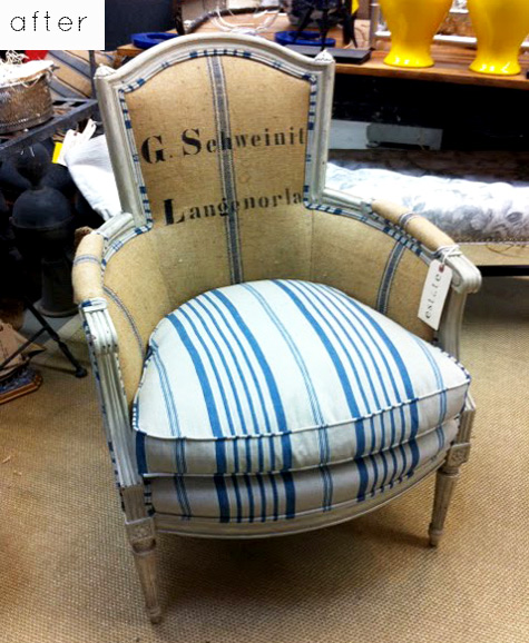 Старое кресло обновить своими руками фото