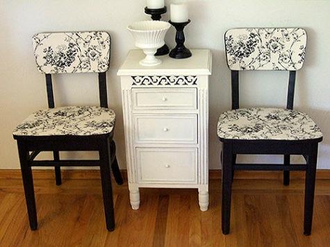 Реставрация стула и стола