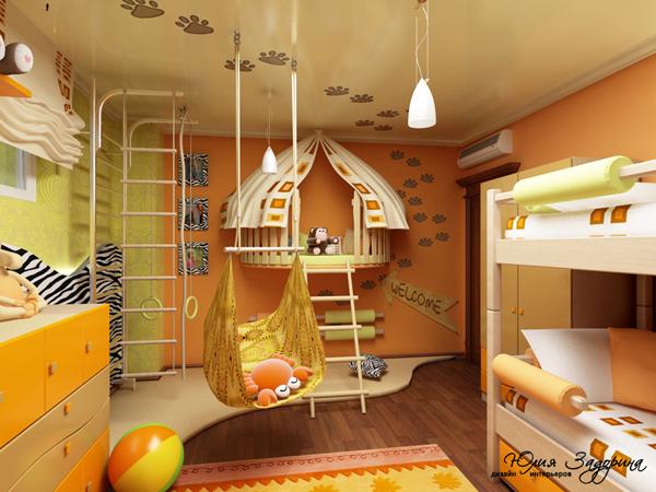 Как сделать комнату красивой для мальчика