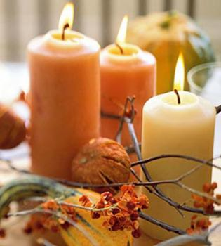 automn-centerpiece-ideas-candles