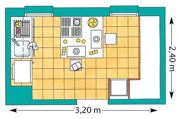 кухни 12 метров фото