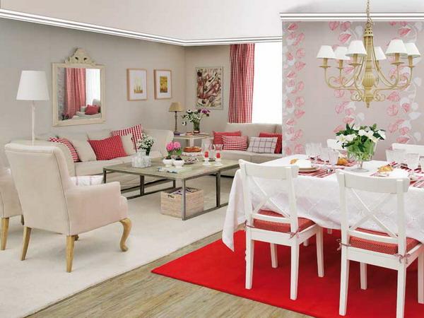 Ph n b ph ng n v ph ng kh ch nh cho c n h ch l for Living room zones