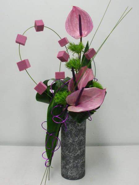 Цветы на флористической губке своими руками фото 779