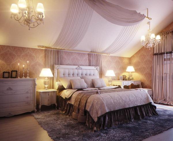 Спальня в стиле будуар