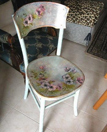 Как обновить старые стулья своими руками фото 161