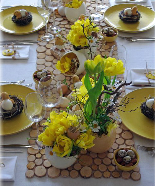 easter-chickens-table-setting