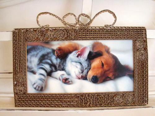 diy-photo-frame-of-carton2