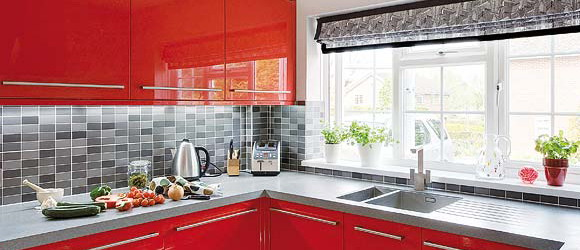 red-grey-white-modern-kitchen1