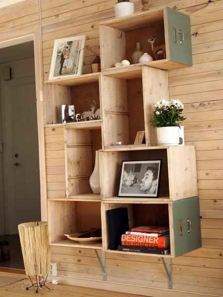 Оригинальные полочки своими руками. полки, контейнеры, места для хранения, мебель, дизайн, интерьер, дизайн интерьера...