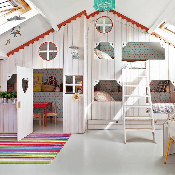 little-house-in-attic-kidsroom