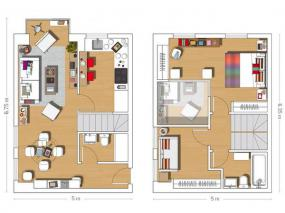 mini-duplex-loft-for-woman-interior-plan