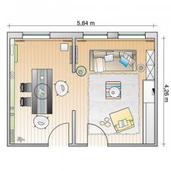 successful-union-of-two-small-rooms-plan