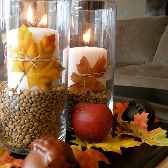 autumn-eco-decor-around-candles