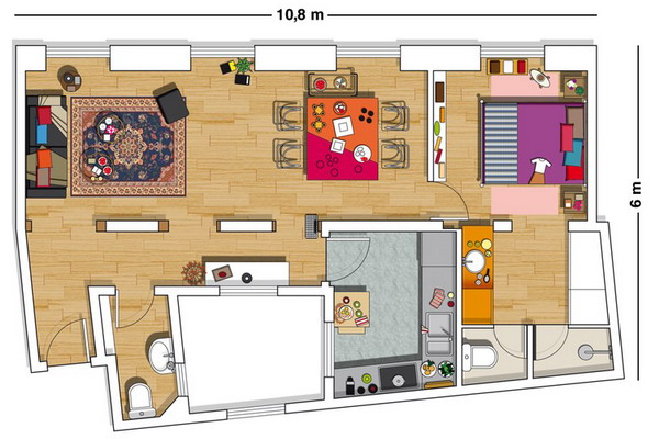 creative-colorful-spanish-apartment-plan