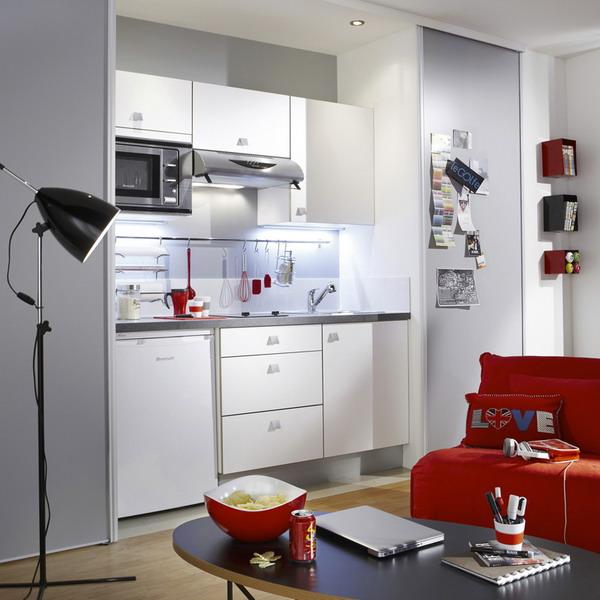 Prix D Une Cuisine équipée: Маленькая кухня для молодой семьи: 28 фото интерьеров + 14