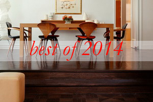 best-2014-decorator-tricks4-dark-wood-flooring-harmonious-furniture