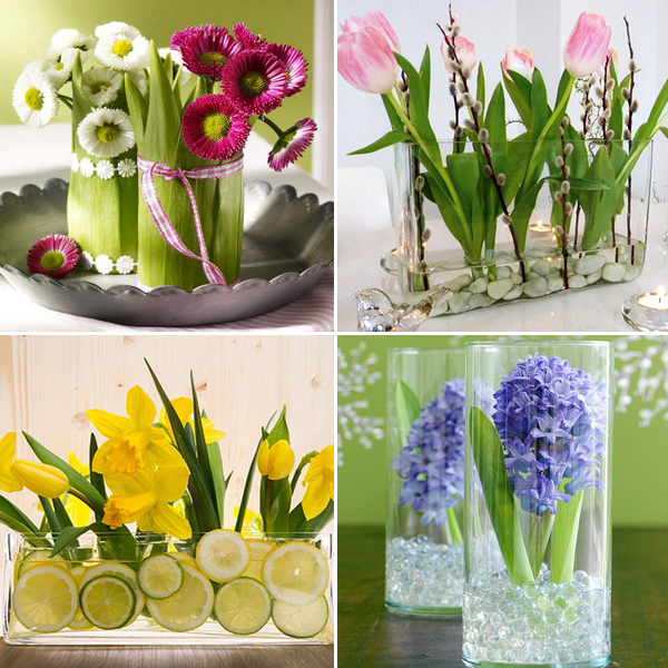 creative-bouquets-of spring-flowers