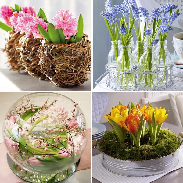 Декор букетов из цветов 3