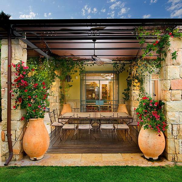 Ландшафтный дизайн средиземноморский стиль