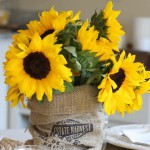 sunflowers-centerpiece-decorating-ideas