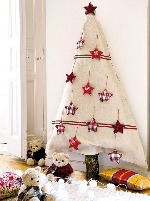 diy-christmas-tree-made-of-fabric2