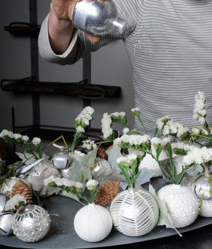 white-silver-christmas-floral-centerpiece-step7-1