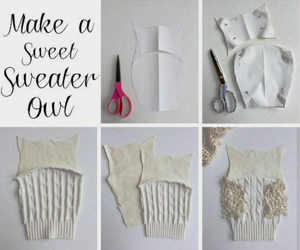 diy-owl-from-old-white-sweater1