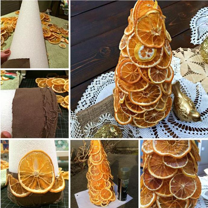 Поделки из сушеных апельсинов 597