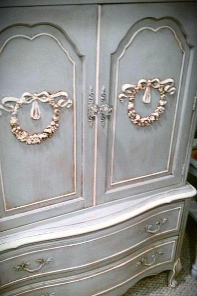 Своими руками декорировать старый шкаф