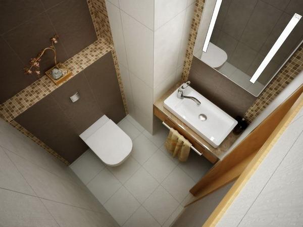 Фото туалета и умывальник дизайн 7