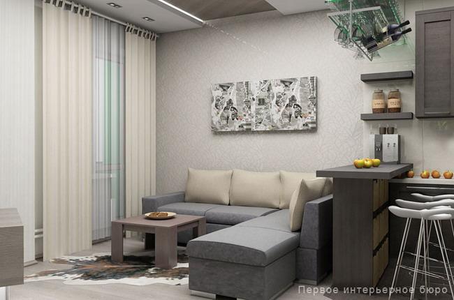 Логика практичности: два проекта 3х комнатных квартир в совр.