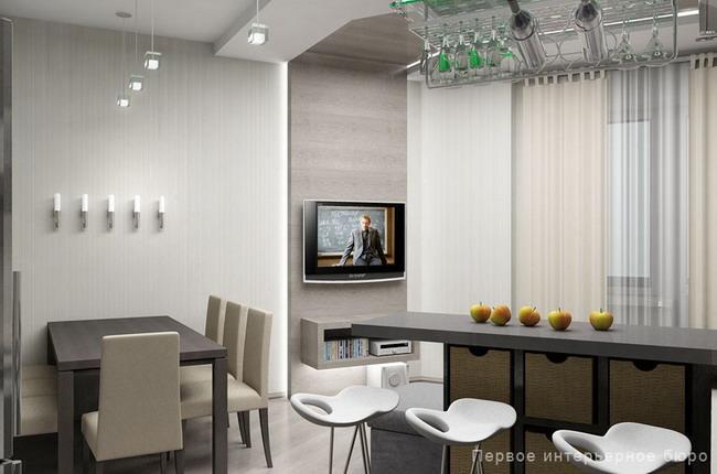 Логика практичности: два проекта 3х комнатных квартир в ...: http://design-remont.info/2011/06/05/apartment106