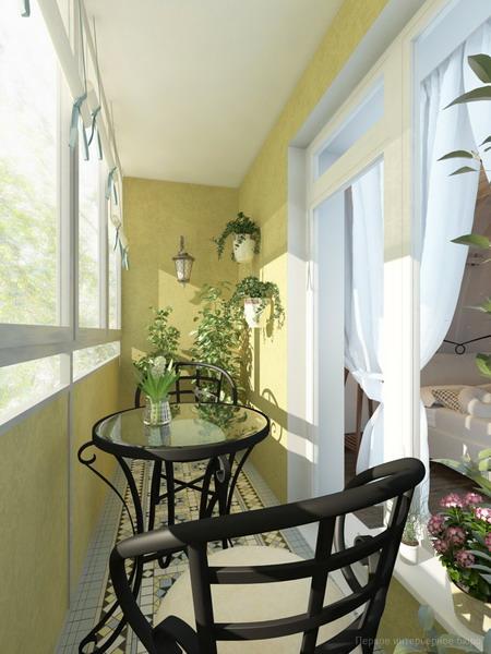 Обустройство и декор балкона растениями - садоводы тюмени - .