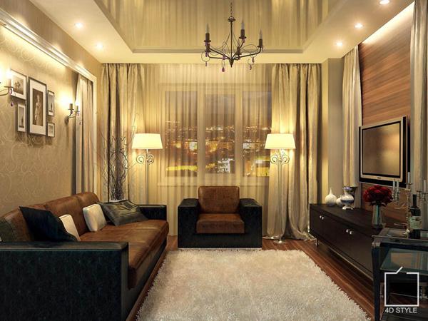 Дизайн квартир 50 кв.м фото 2х комнатные