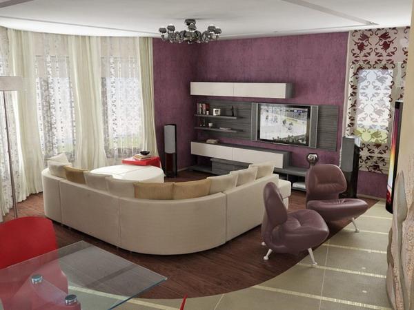 Дизайн кухни гостинной 17 кв м дизайн
