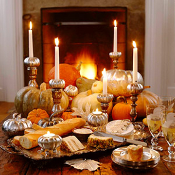 13 original ideas for the autumn table setting with candles!
