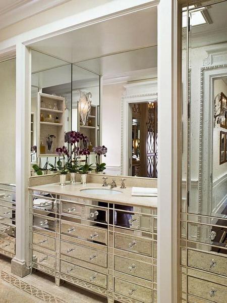 Вокруг зеркала в ванной 60 самых красивых идей от