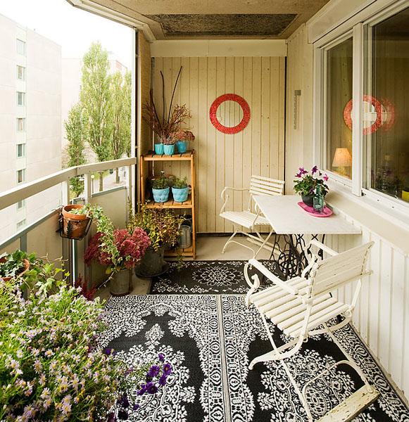 К такой квартире легко пристраивается балкон.