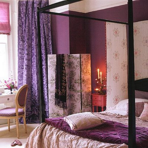 Фиолетовый дизайн своими руками 603