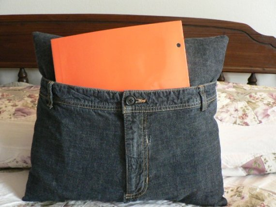 подушки из джинсовой ткани - добавляем накладные элементы. подушки из...
