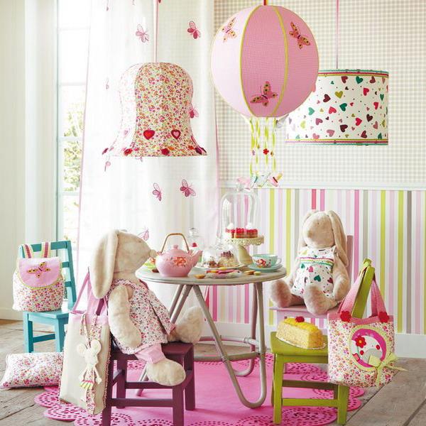 Как своими руками украсить детскую комнату для девочки 79