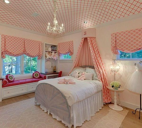 дизайн потолка в детской комнате 50 фото самых оригинальных идей