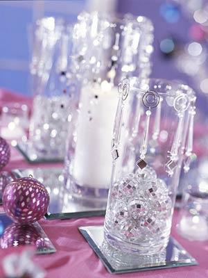 Как украсить стаканы на новый год