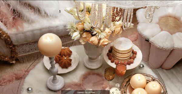 Упаковка подарков с белой новогодней тематикой.