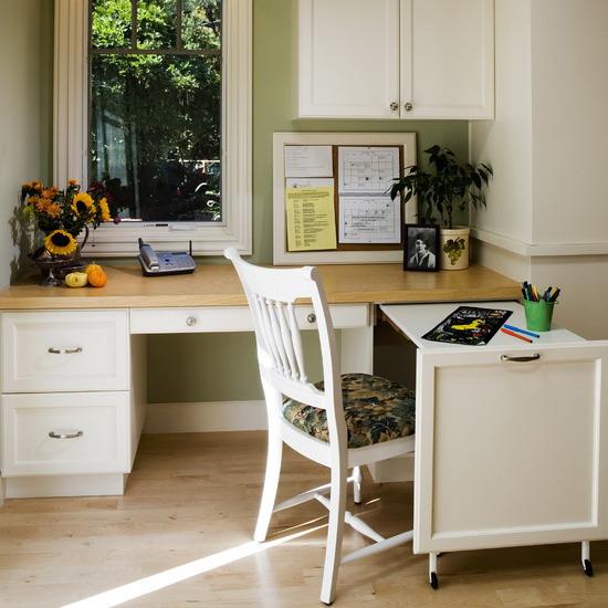 Угловой домашний офис: 10 приемов + 60 идей для комфортного .