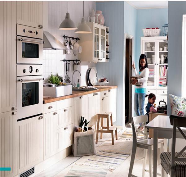 Cottage Kitchen Designs Photo Gallery: Кухня в стиле коттедж: советы профи, 25 вариантов + 3 тура
