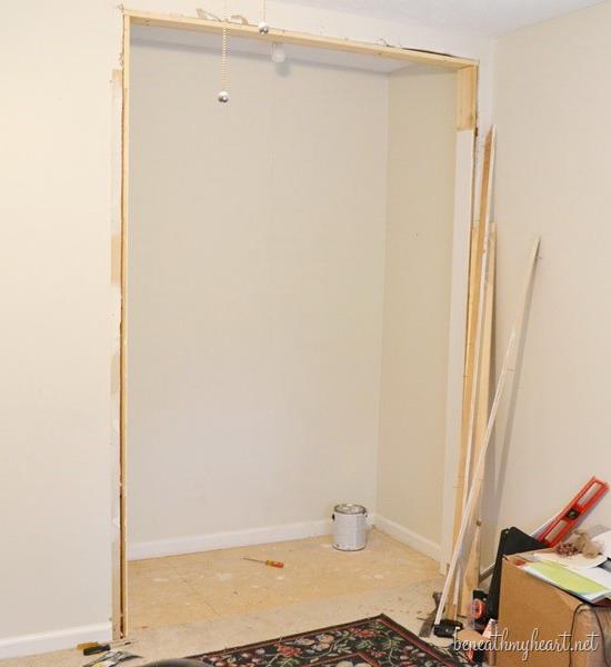 Как сделать стены в кладовке