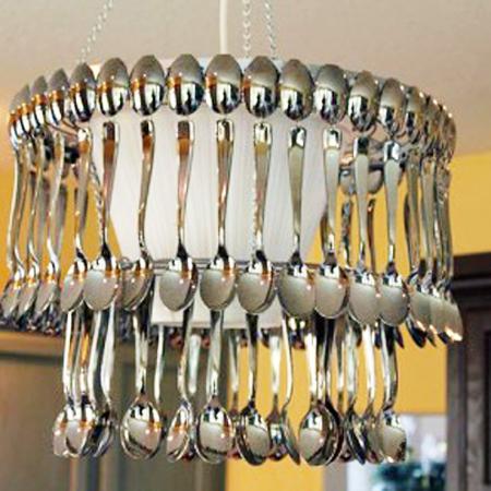 Как сделать люстру своими руками для кухни