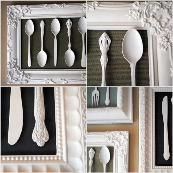 Рамки для фото на кухню своими руками 77