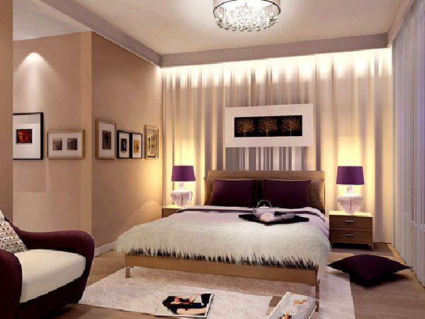 Кровать у окна интерьер спальни фото